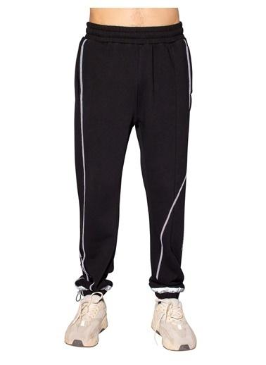 Huxel MUJ002202 Black Sweatpant Siyah